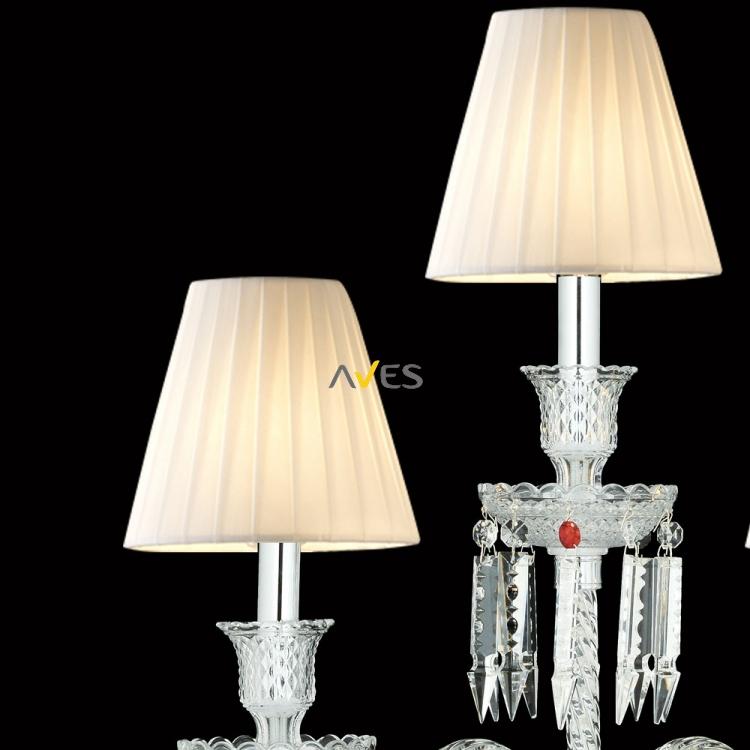 Baccarat Collection 3 Lambalı Kristal Şamdan Aydınlatma