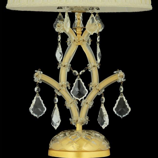 Maria Theresa Abajur Şeffaf Gold - Thumbnail