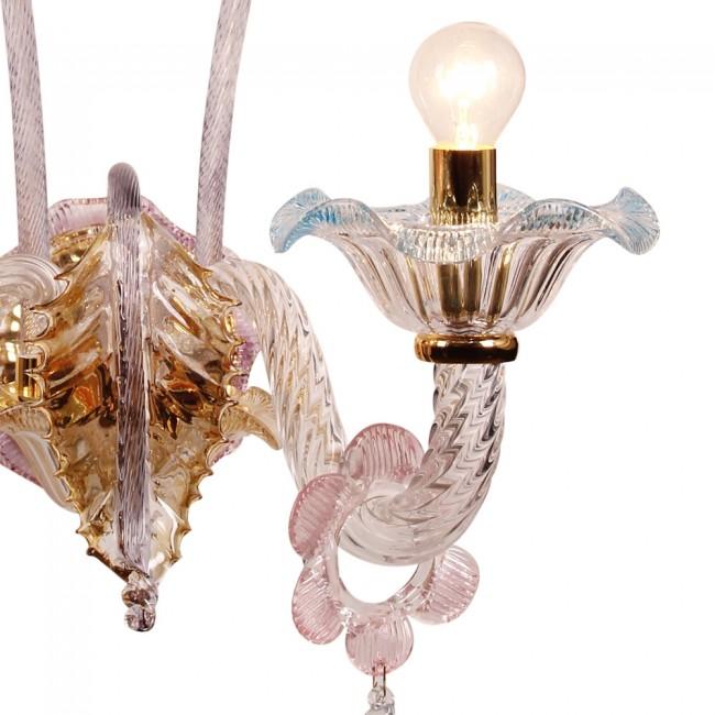 Murano Collection 2 Lambalı Aplik - Thumbnail